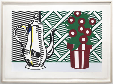 Roy Lichtenstein, 'Still Life with Pitcher and Flowers', 1974