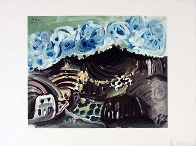 Pablo Picasso, 'Vue Depuis L'Atelier De L'Artiste', 1980