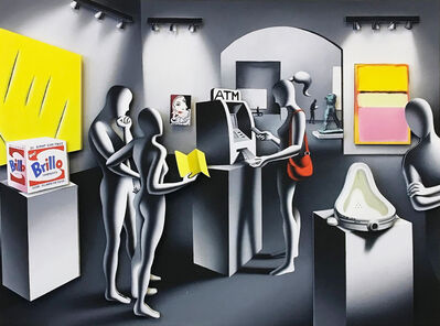 Mark Kostabi, 'DREAM WITHDRAWAL', 2014