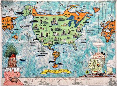 Enrique Chagoya, 'Road Map', 2003