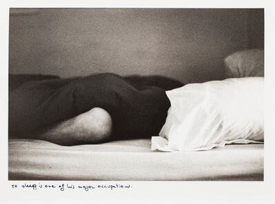Sophie Calle, 'Les Dormeurs (The Sleepers) from the Bob Garison series', 1979