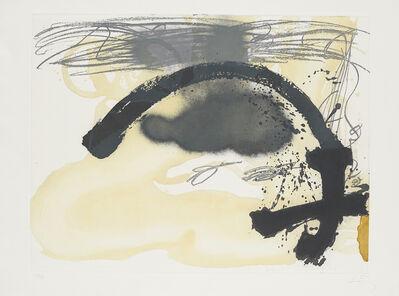 Antoni Tàpies, 'Arc i creu', 1982