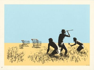 Banksy, 'Colour Trolleys ', 2007