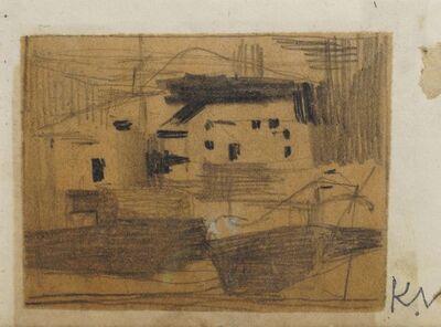 Keith Vaughan, 'Farm Buildings', c.1943
