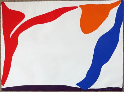 Raymond Parker, 'Red, Orange, Blue, Purple', 1969