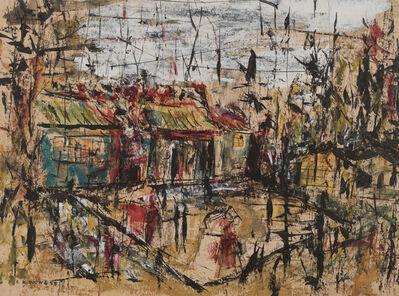 Wucius Wong, 'Village scene', 1958