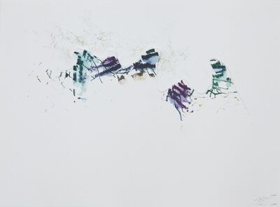 Brendan Stuart Burns, 'Tickle Watercolor 0545', 2009