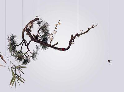 Hong Lei, 'Speak, Memory of Plum Blossoms 說吧, 記憶臘梅', 2005
