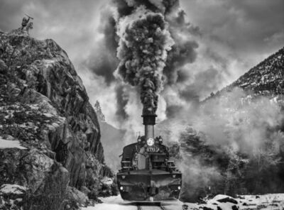 David Yarrow, 'Vantage Point', 2021