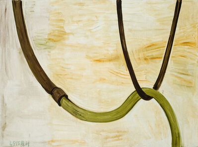 Zhang Enli 张恩利, 'The Brown and Green Pipes '
