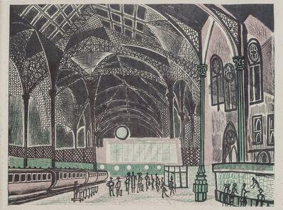 Edward Bawden, 'Liverpool Street Station', circa 1960