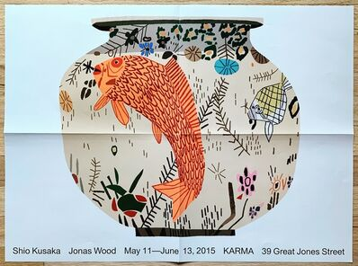 Jonas Wood, 'Exhibition Poster, KARMA, NYC', 2015
