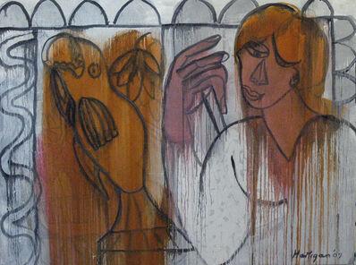 Grace Hartigan, 'Woman and Fish in Grey', 2007