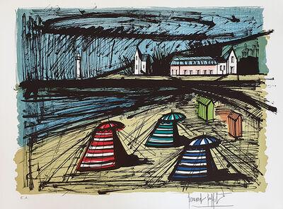 Bernard Buffet, 'Tentes sur la Plage', 1980