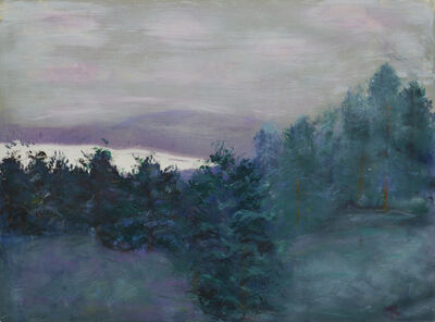 Helene Manzo, 'Hudson River view from 9W', ca. 2020