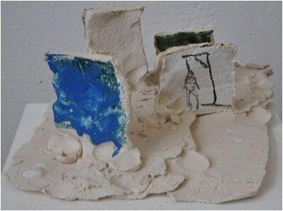 Norbert Prangenberg, 'Untitled (Landscape with pine and gibbet)', 2010