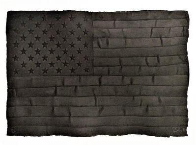 Robert Longo, 'Black Flag', 1999