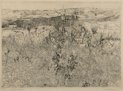 Anthony Gross, 'Winter Grasses', 1972
