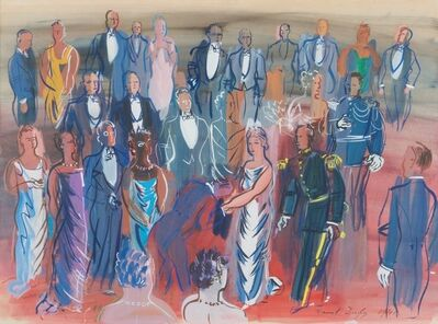 Raoul Dufy, 'Reception Mondaine', 1941