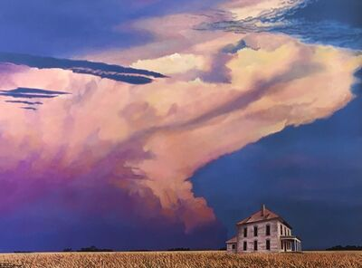 BRUCE CASCIA, 'Thunder's Edge', 2020