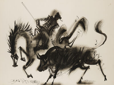 Byron Browne, 'The Picador and Bull', 1959