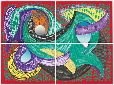 David Hockney, 'Going Round, from Some More New Prints', 1993