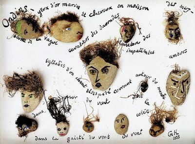 Georges Hugnet, 'Ondins', 1959