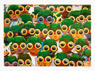 Hebru Brantley, 'Suspects', 2018