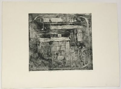 Louise Nevelson, 'Magic Garden in Sea Land A  (only avail. with Portfolio of 23)', 1965-66