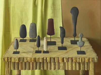 Claudio Bravo, 'Ritual Stones', 1997