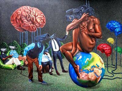 Amani Bodo, 'Le monde des observateur', 2020