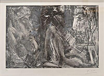 Pablo Picasso, 'Homme et Femme (B.1385; BA.1407)', 1966