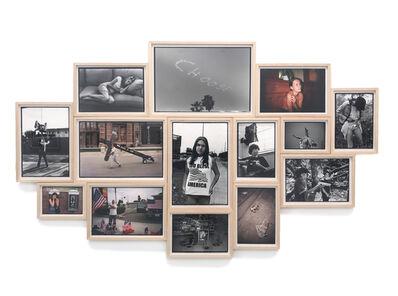 """Ed Templeton, '""""Deformer"""" Image Cluster', 1990-2017"""