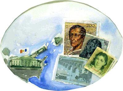 Kim MacConnel, 'Post 9/11 Exchange (Euro)', 2005