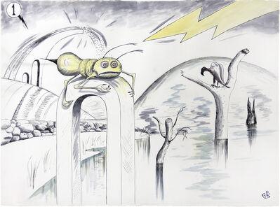 H.C. Westermann, 'Untitled (Swamp Creatures)', 1969