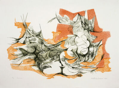 "Roberto Burle Marx, '""Casanova""', 1985"