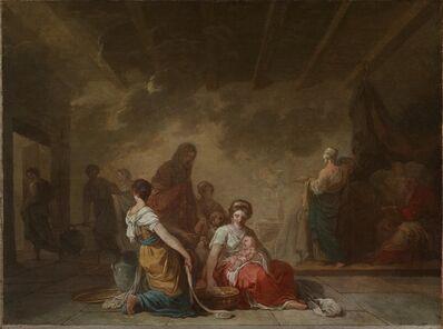 Joseph-Benoît Suvée, 'Esquisse pour La Naissance de la Vierge', ca. 1779
