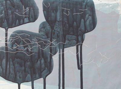 Sara Dudman RWA, 'Coast, Rocks, Flock Study 2', 2017