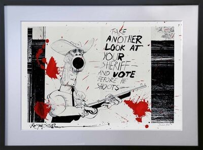 Ralph Steadman, 'Take Another Look!', 1970