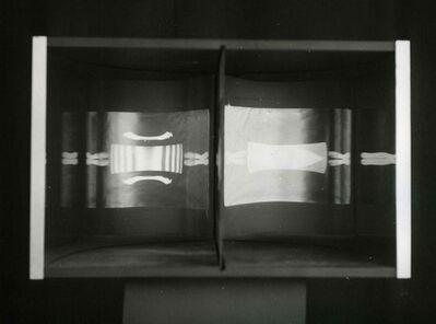 Julio Le Parc, 'Image virtuelle par deplacement de l`spectateur', 1964