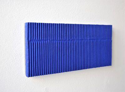 Tineke Porck, 'Blue Lining', 2019