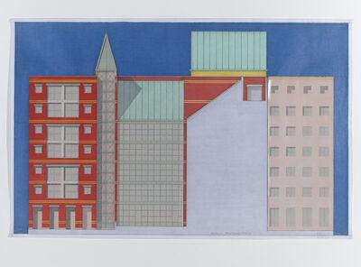 Aldo Rossi, 'Berlin Friederichstrasse'