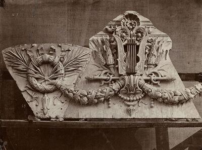 Louis-Emile Durandelle, 'Le Nouvel Opera de Paris, Sculpture Ornementale', 1866-75 / 1875c