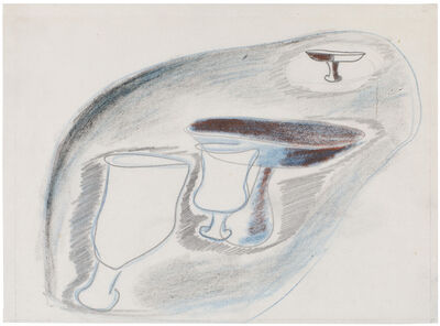Morris Graves, 'Study for Chalices', ca. 1939