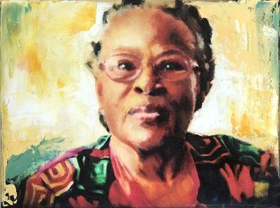 John Hyland, 'Libertas Enlightening the World: Portrait of Opal Lee', 2021
