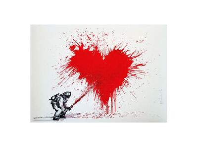 Mr. Brainwash, 'Love to the Rescue', 2014