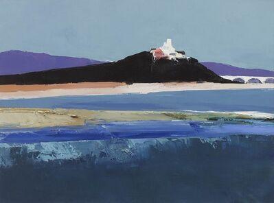 Donald Hamilton Fraser, 'River landscape, River Durance, Provence'