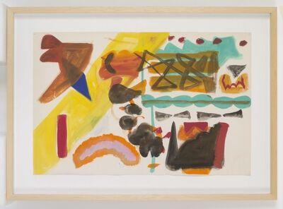 Shirley Jaffe, 'Untitled', 1983-1984