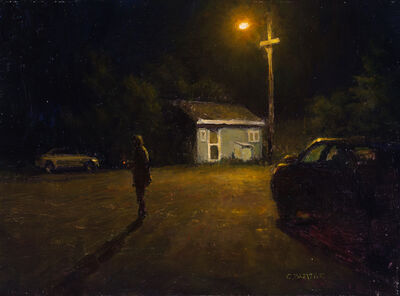 Carl Bretzke, 'Bridget Smokes', 2018