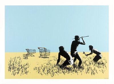 Banksy, 'Trolly Hunters', 2007